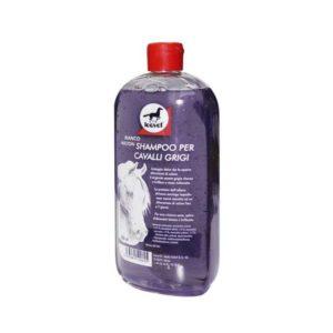 Shampoo per cavalli bianchi e grigi Leovet 500ml