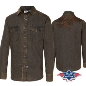 Camicia western uomo Golden Eagle