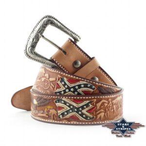 Cintura western in pelle